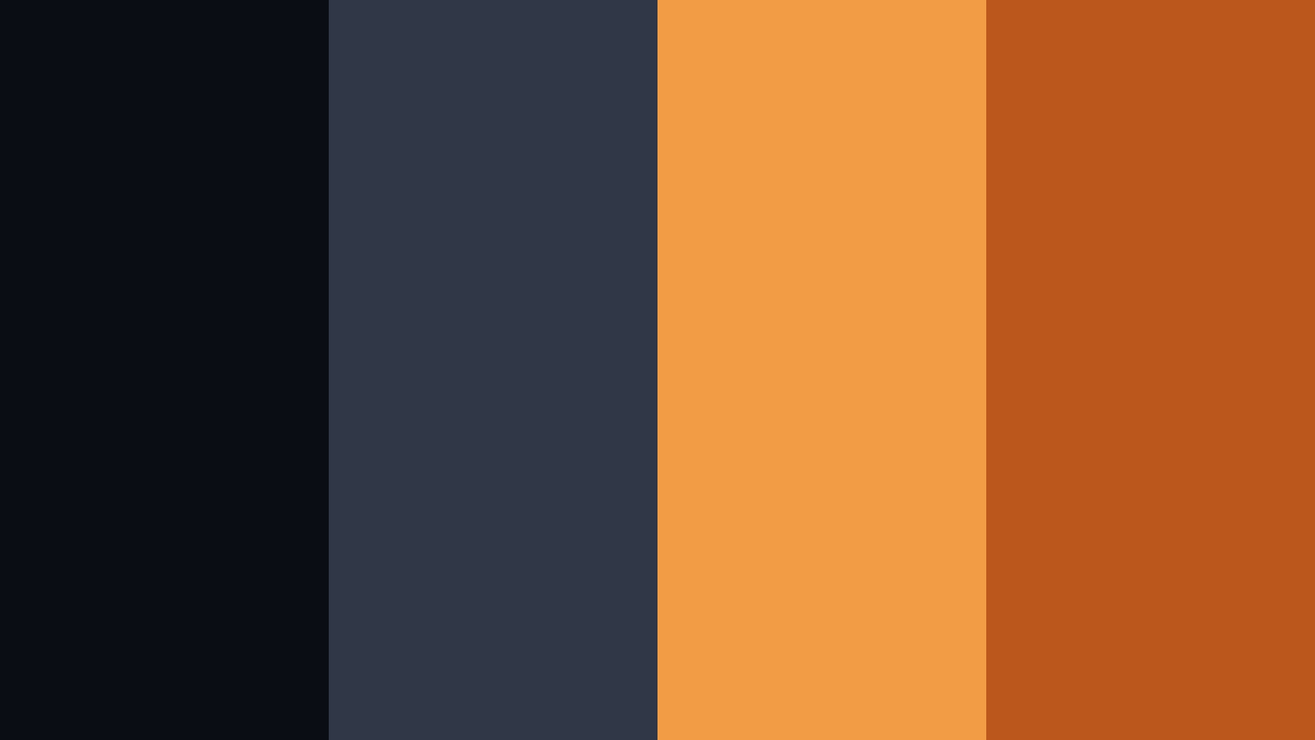 Karasuno Colors Color Palette