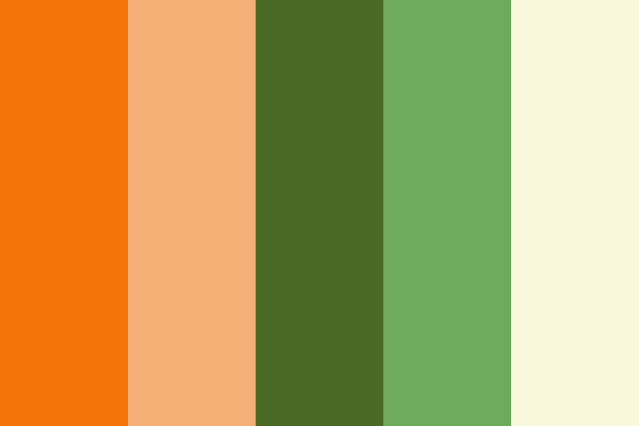Katie And Matts Wedding Colors Color Palette