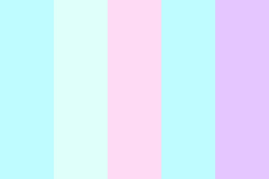 Kawaii Pastels Color Palette
