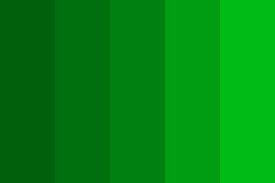 Kermits Nightmares Color Palette