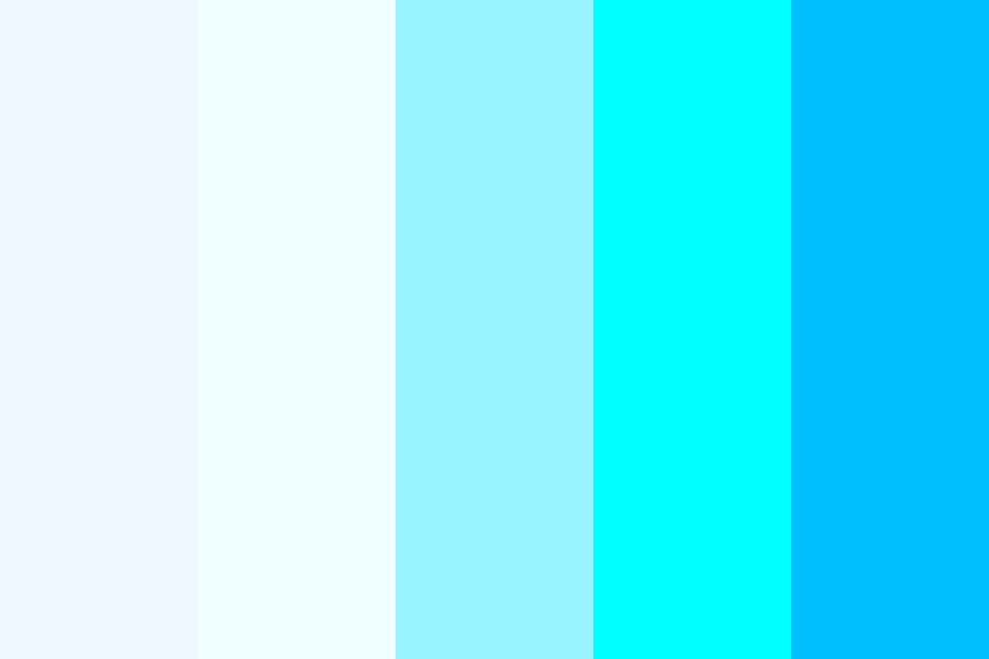 Kfa These Are A Blue Of My Fav Things Color Palette