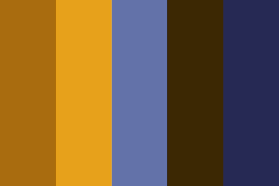 Kid   Orange Color Palette