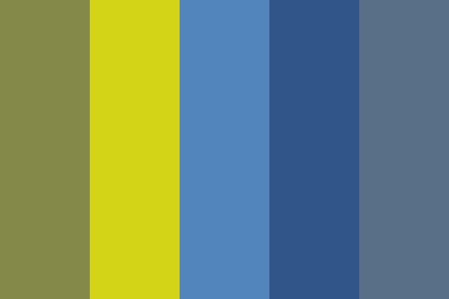 Kid   Yellow Color Palette