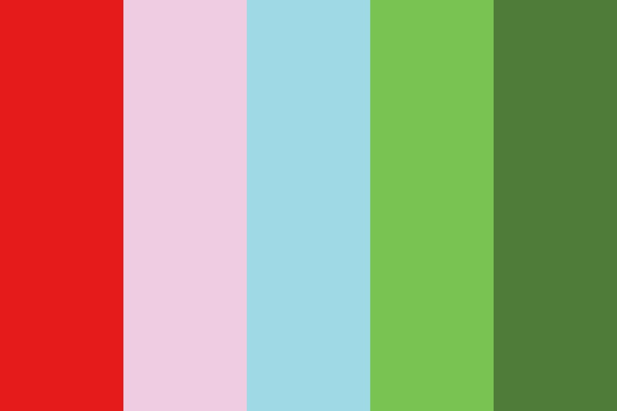 Kids Bright Color Palette