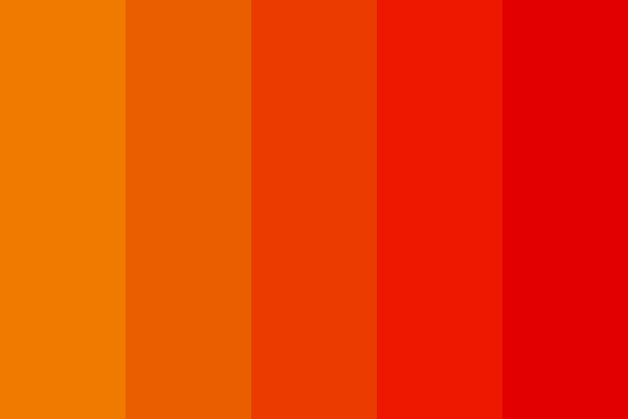 Kinda Like Fire Except Its Not Color Palette