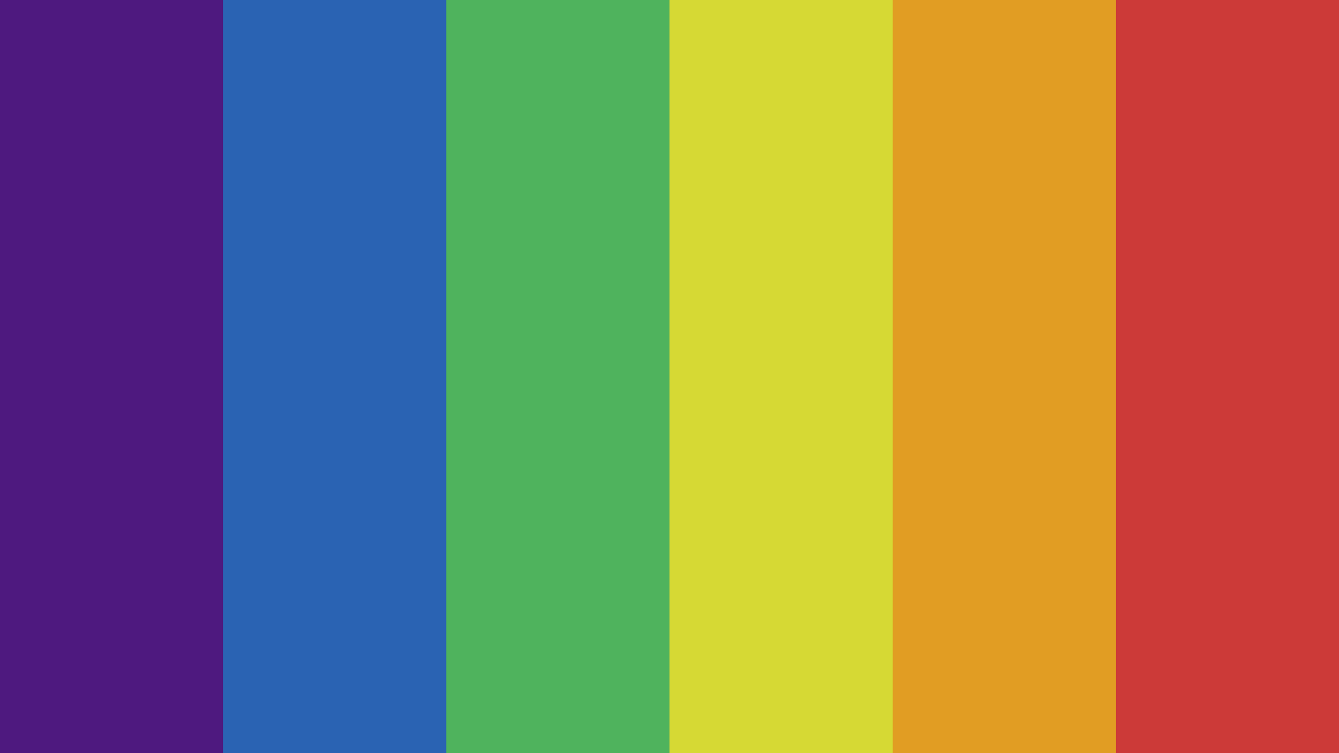 King s Rainbow Color Palette