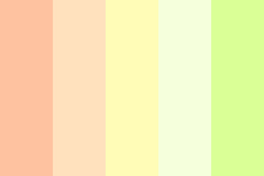 Kiwi Spring Color Palette