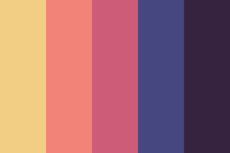 Knights Of Ren Color Palette
