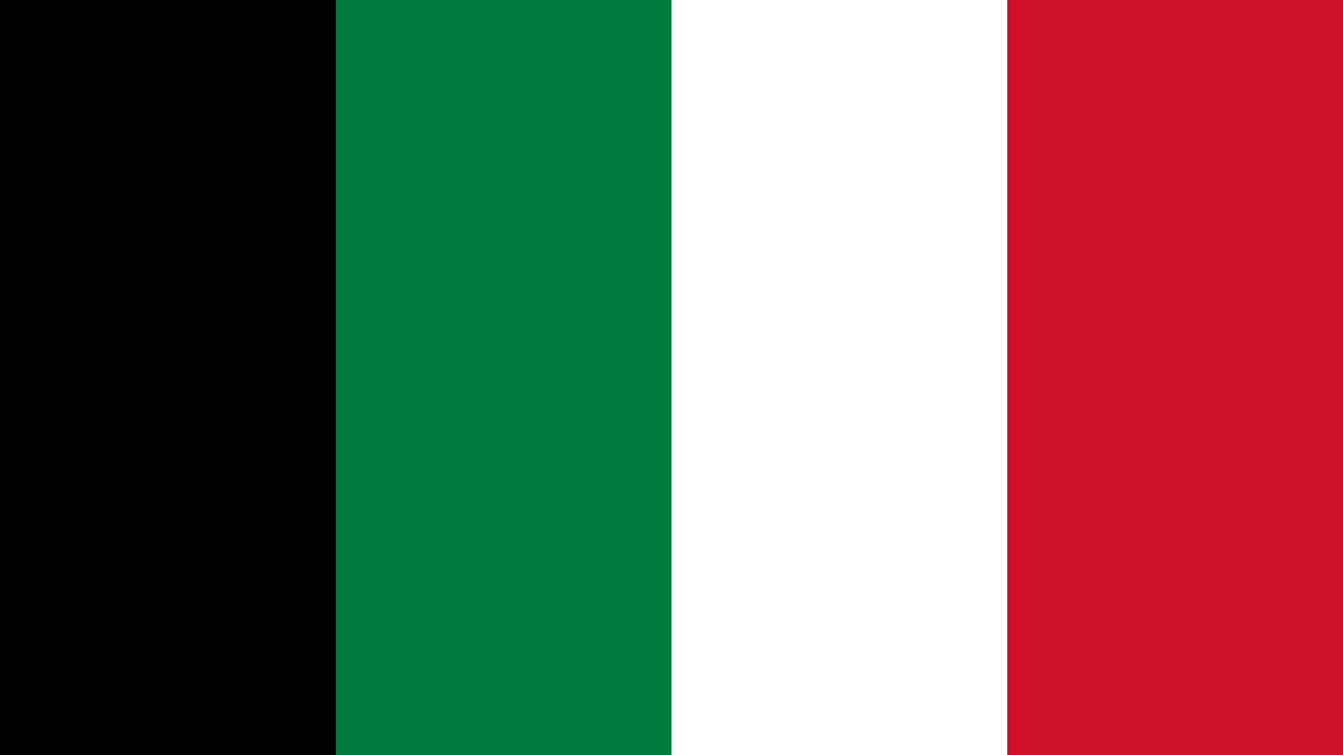 Kuwait Flag Colors