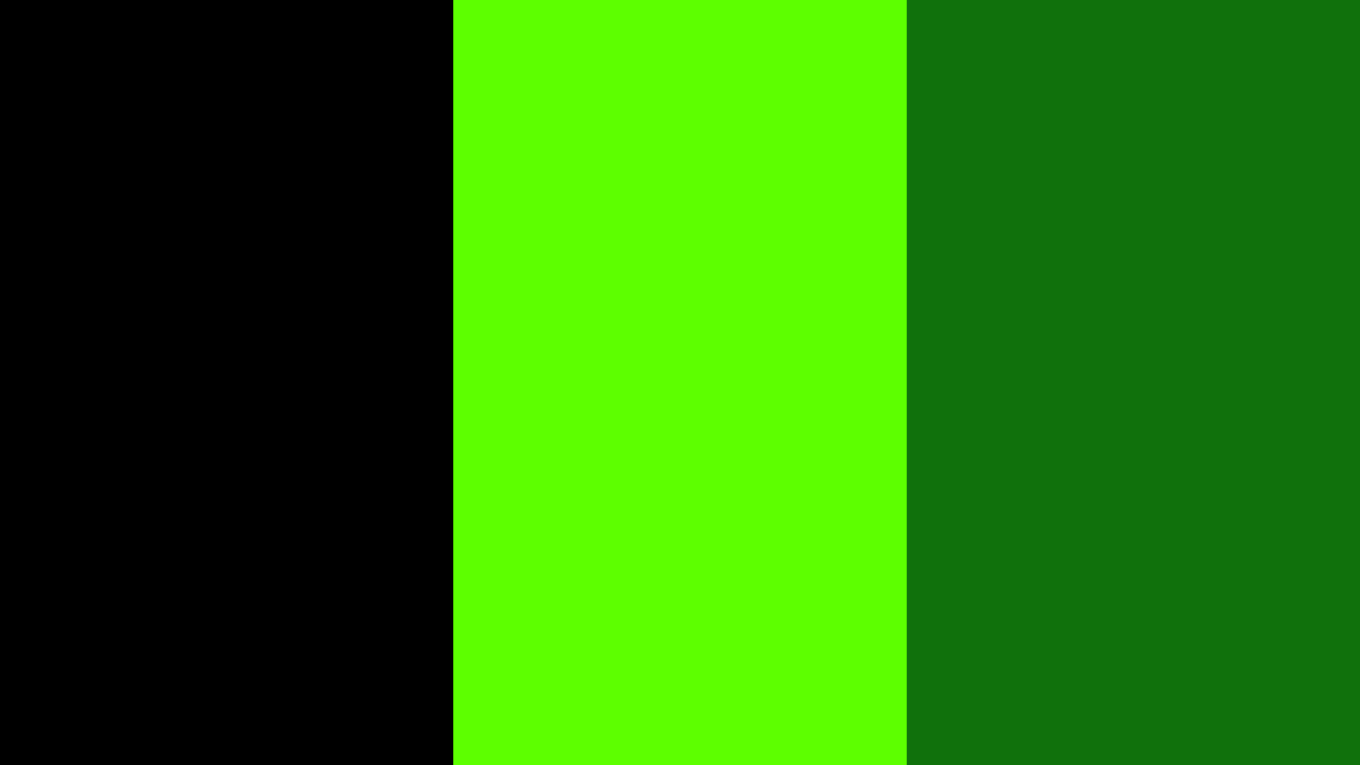 LCD Green Color Palette