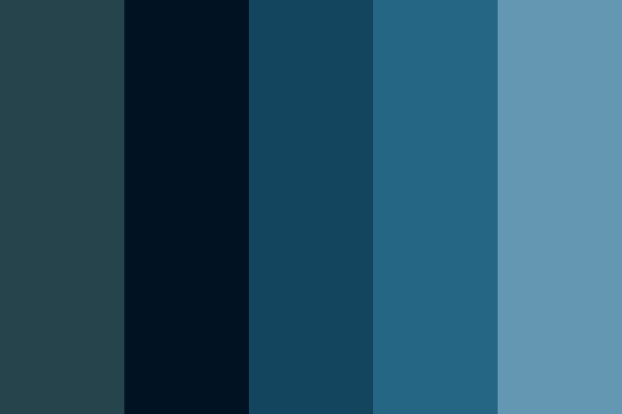 Lake At Night By Fluid Designs Color Palette