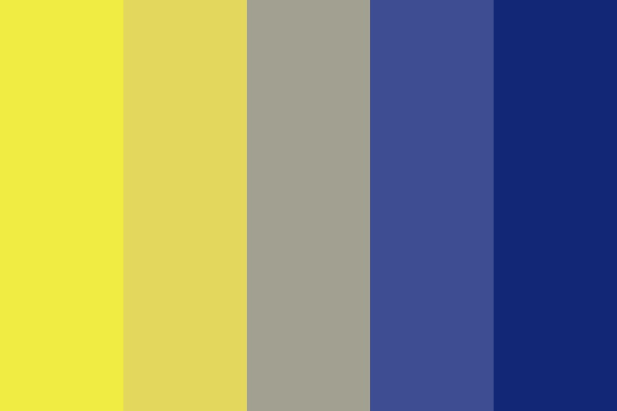 Lapis Gold Color Palette