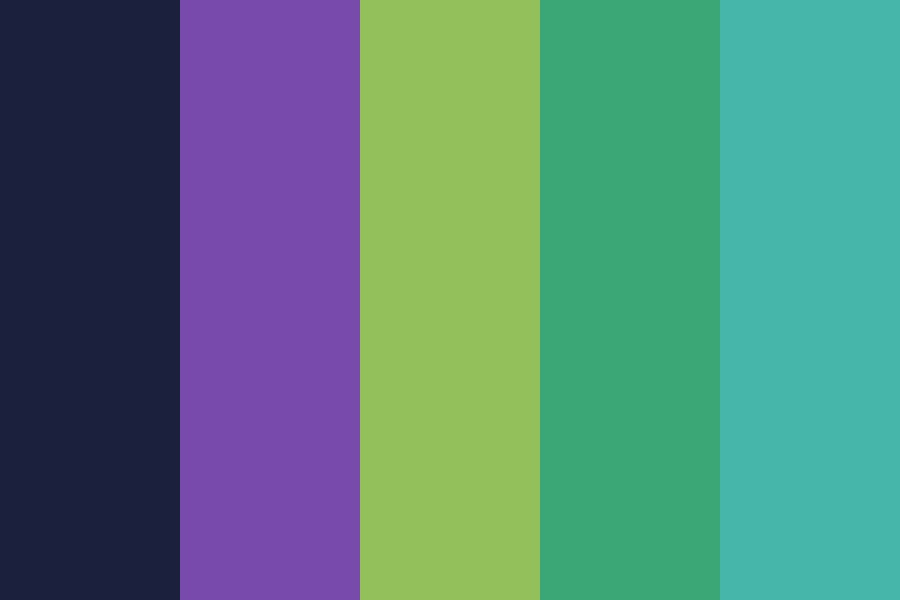 Late At Night Color Palette