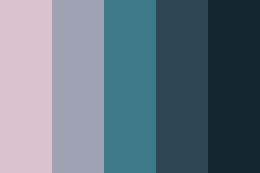 Late Night Blues Color Palette