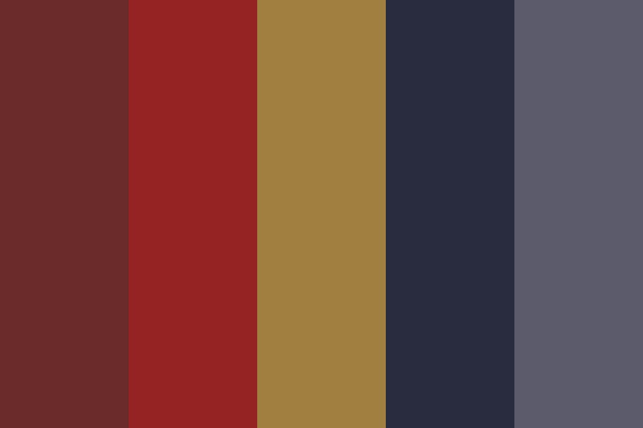 Late Night Crime Scene Color Palette