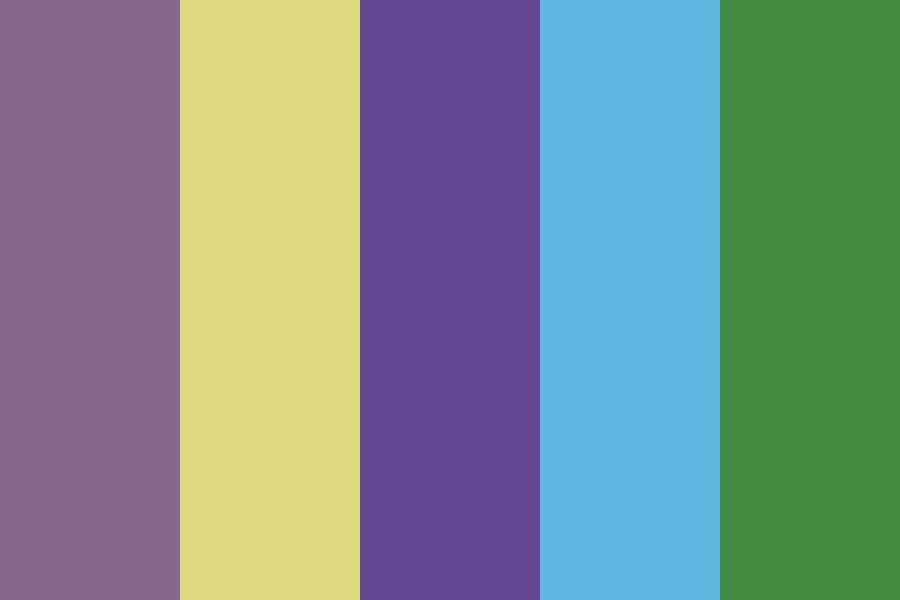 Late Night Party Color Palette