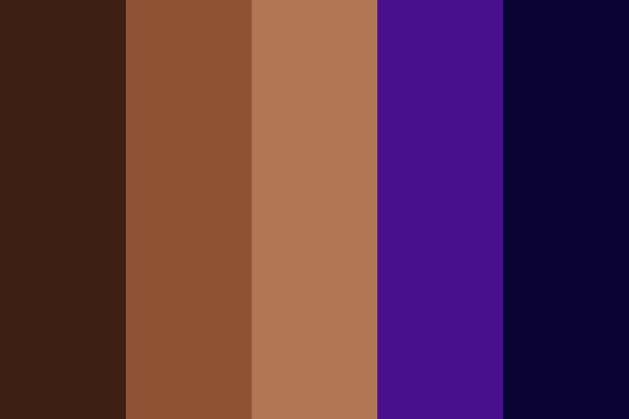 Lavender And Chocolate Color Palette