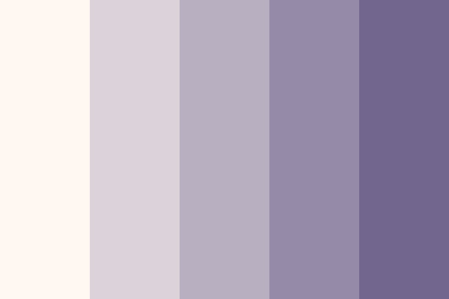 Lavender Beds Color Palette