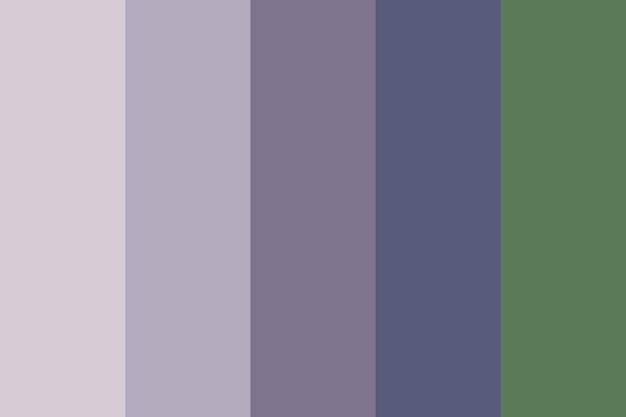 Lavender Breeze Color Palette