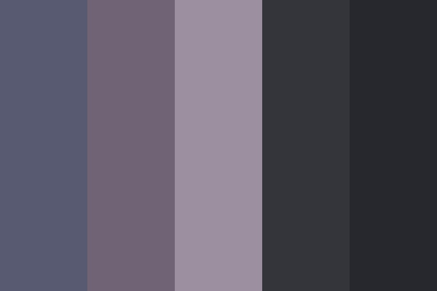 Lavender Denim Color Palette