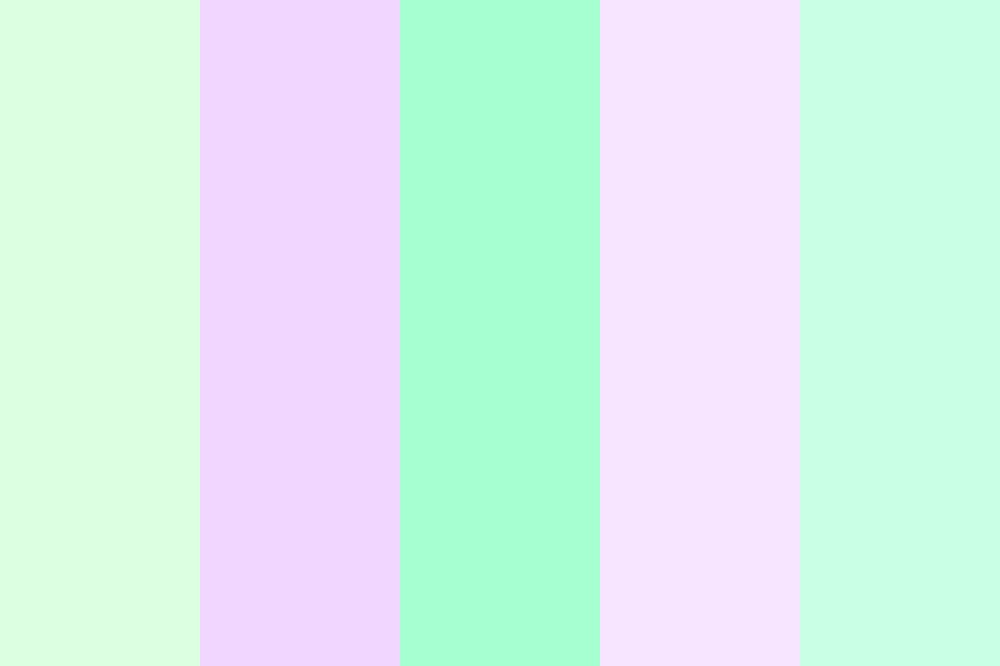 Lavender Mint Color Palette