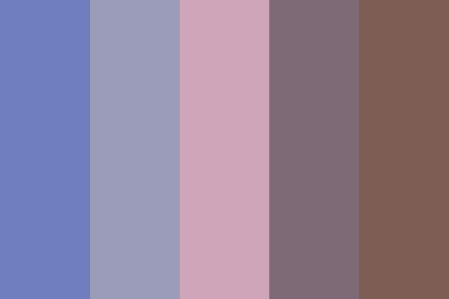 Lavender Mountain Color Palette