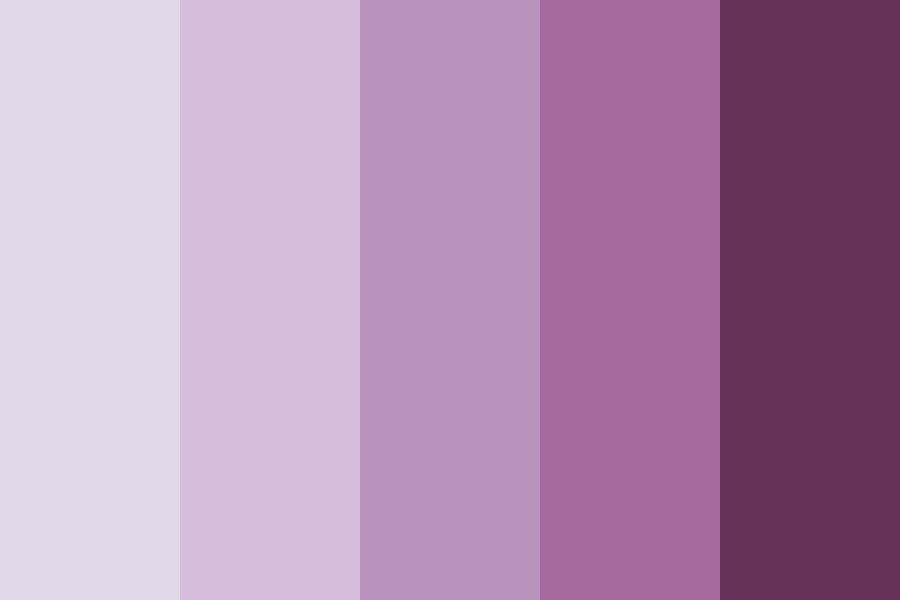 Lavender Rose Color Palette