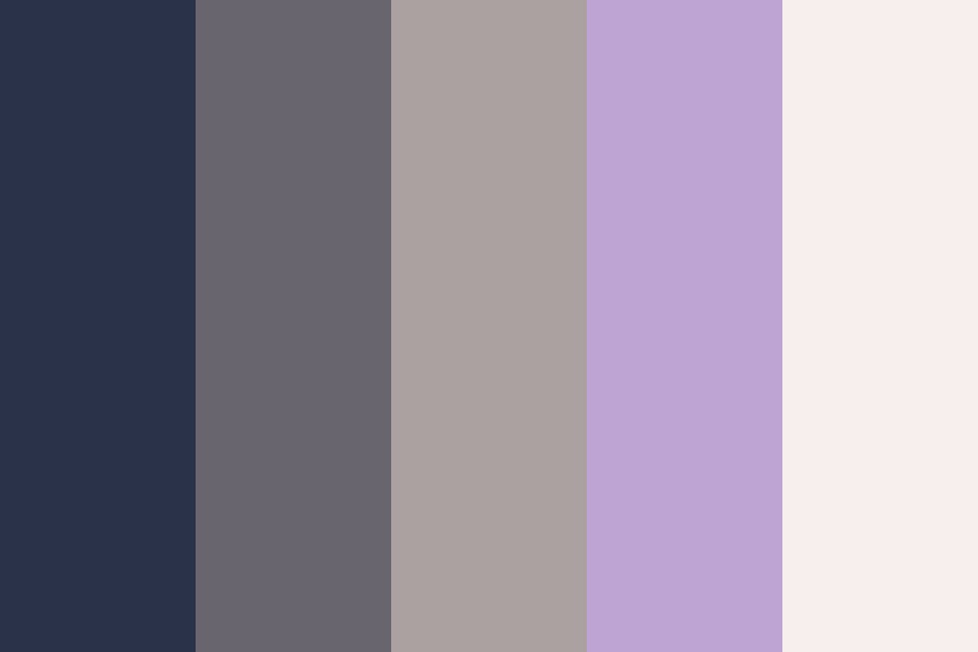 Lavender Scented Garbage Color Palette
