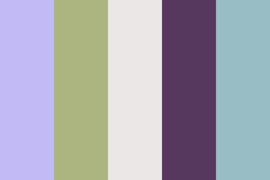 Lavender Windmill Color Palette