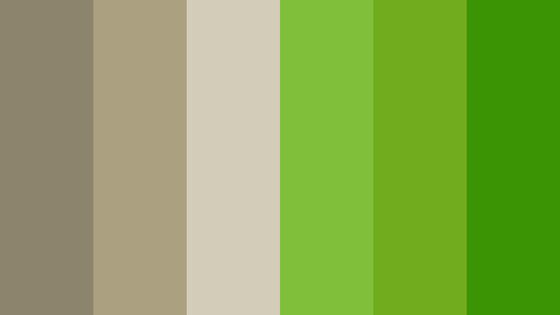 Lawn Like A Wall Color Palette