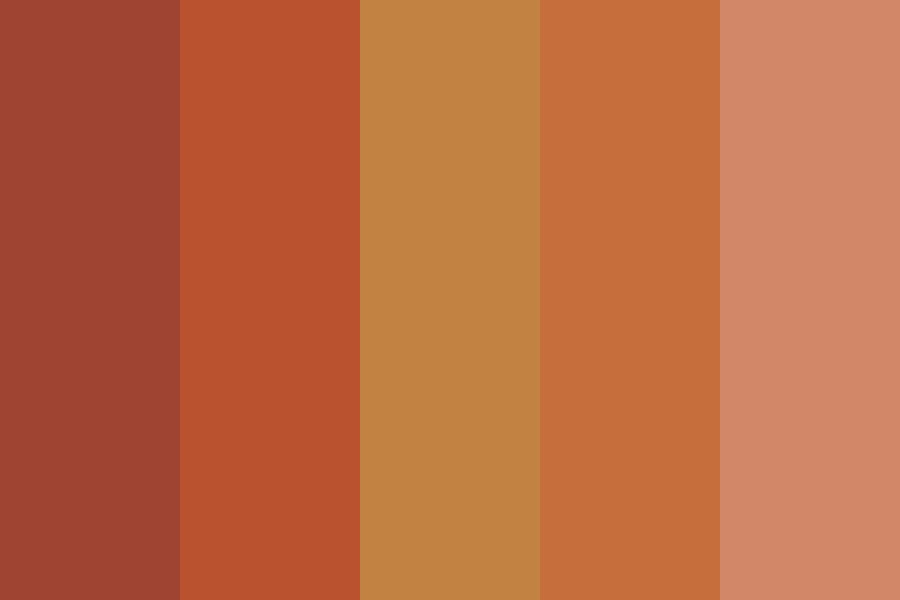 Lby Brown Color Palette