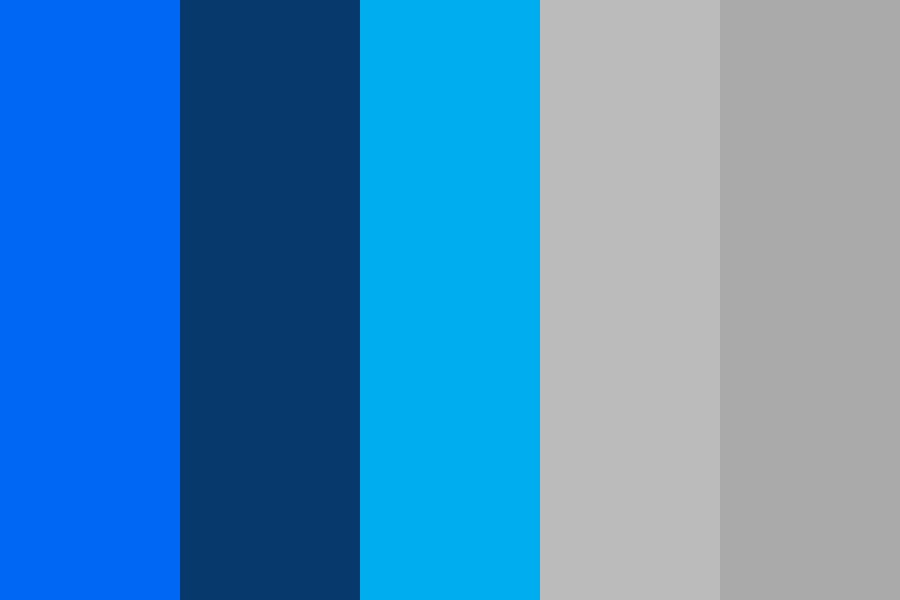 Lcfcn blues Color Palette