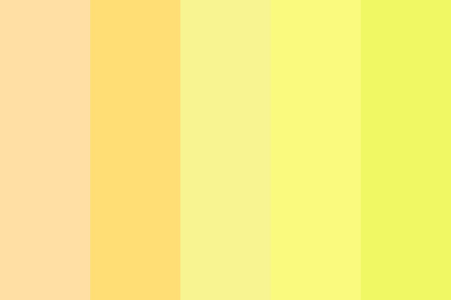 Lemonade Summer Colors Color Palette