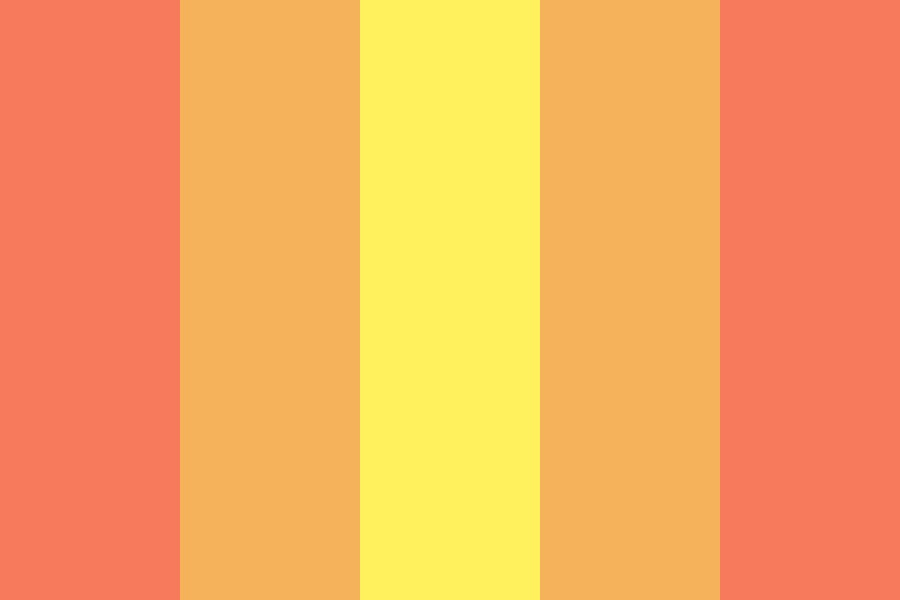 Lemons And Oranges And Peach Color Palette