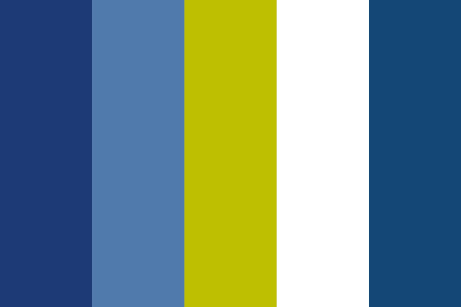 Lets Go Blues Color Palette
