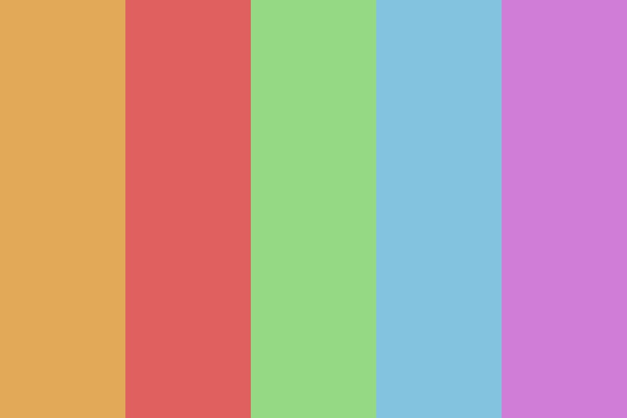 Light And Bright Color Palette