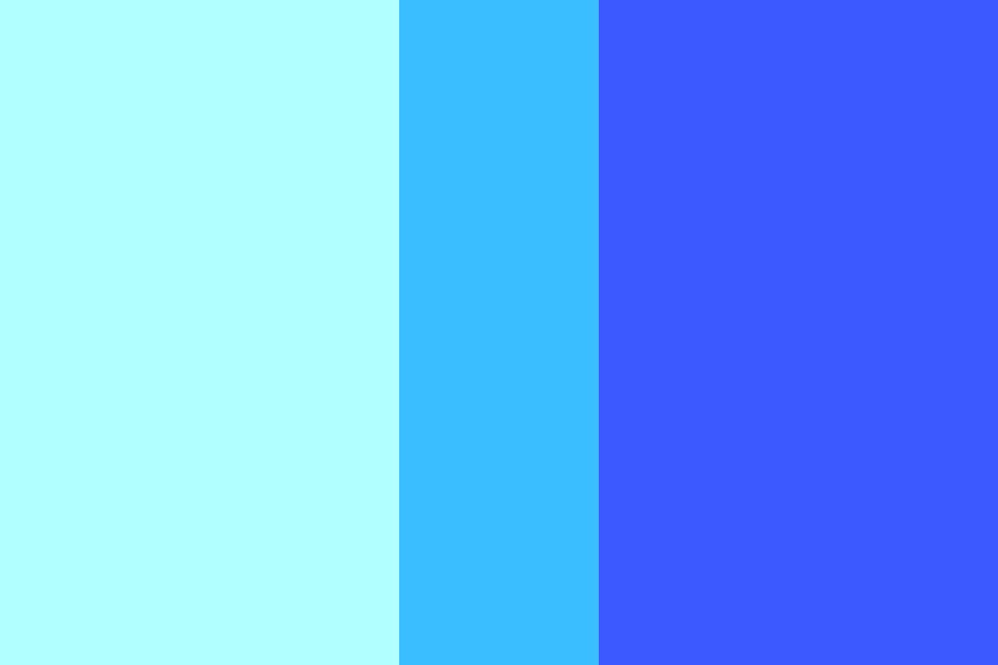Light Blue Color Palette