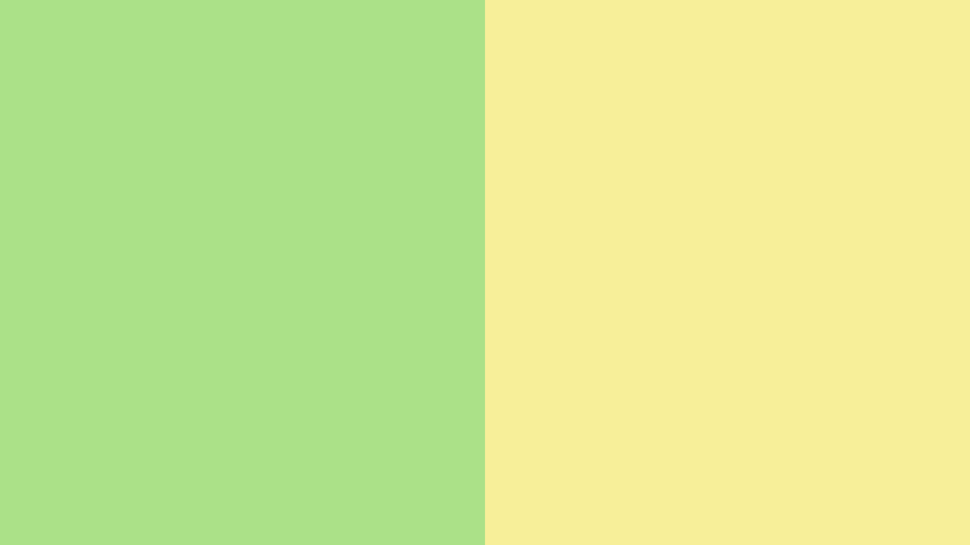 Light Green With Light Yellow Color PaletteGreen