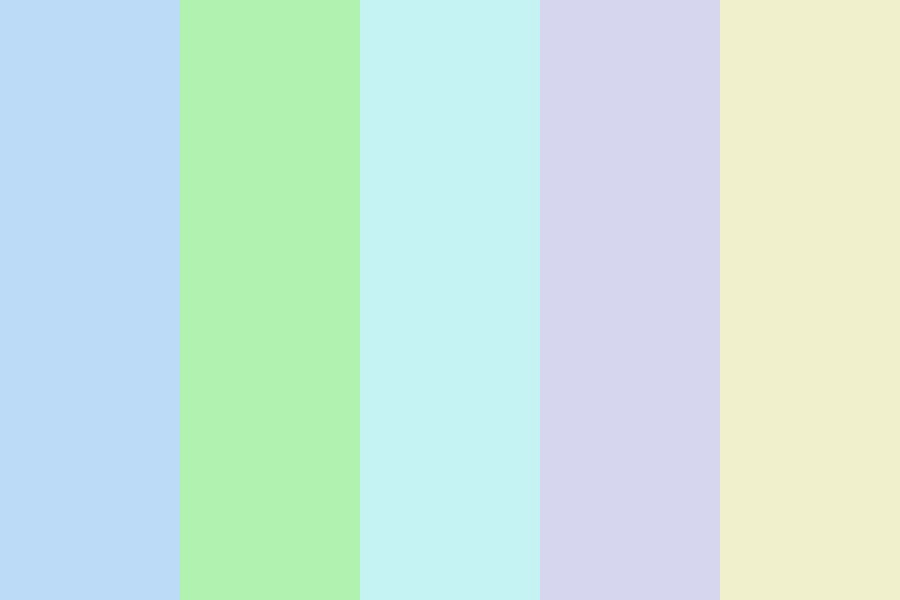 Light In The Sky In Colors Color Palette