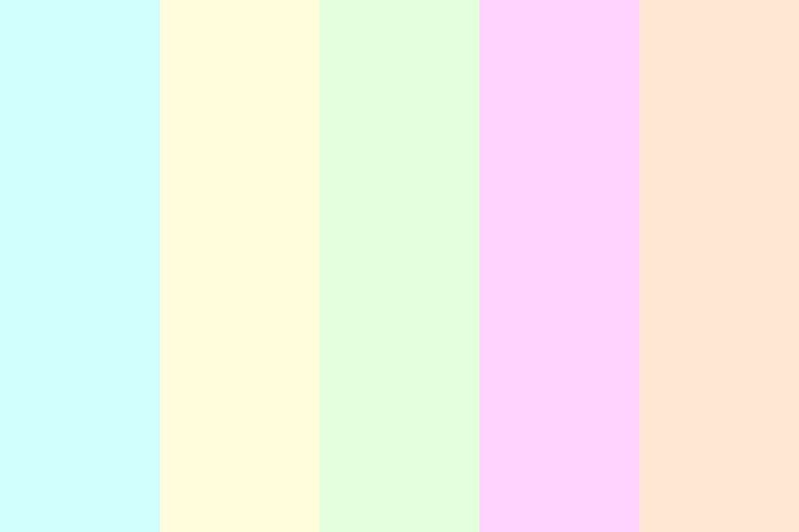 Light Pastel Color Palette