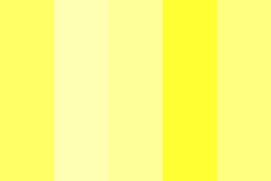Light Yellows Color Palette