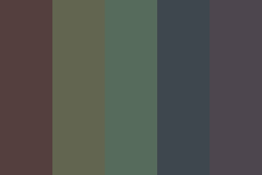 Lights Blaring Late Night Color Palette