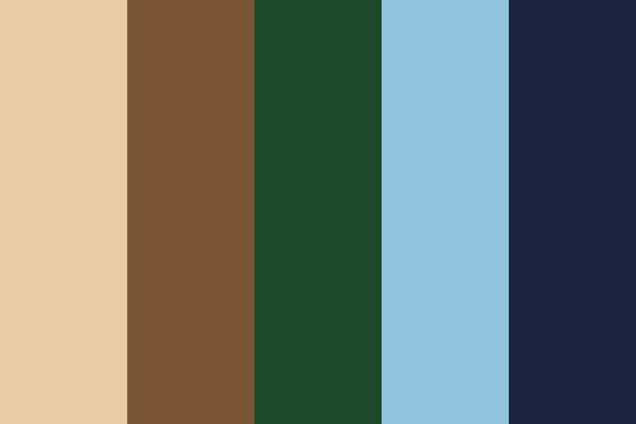 Lights In The Sky Color Palette