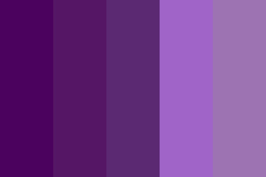Lilac Sky Color Palette