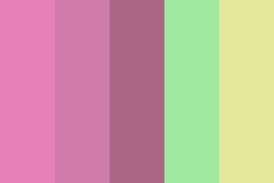 Lily In The Forest Color Palette