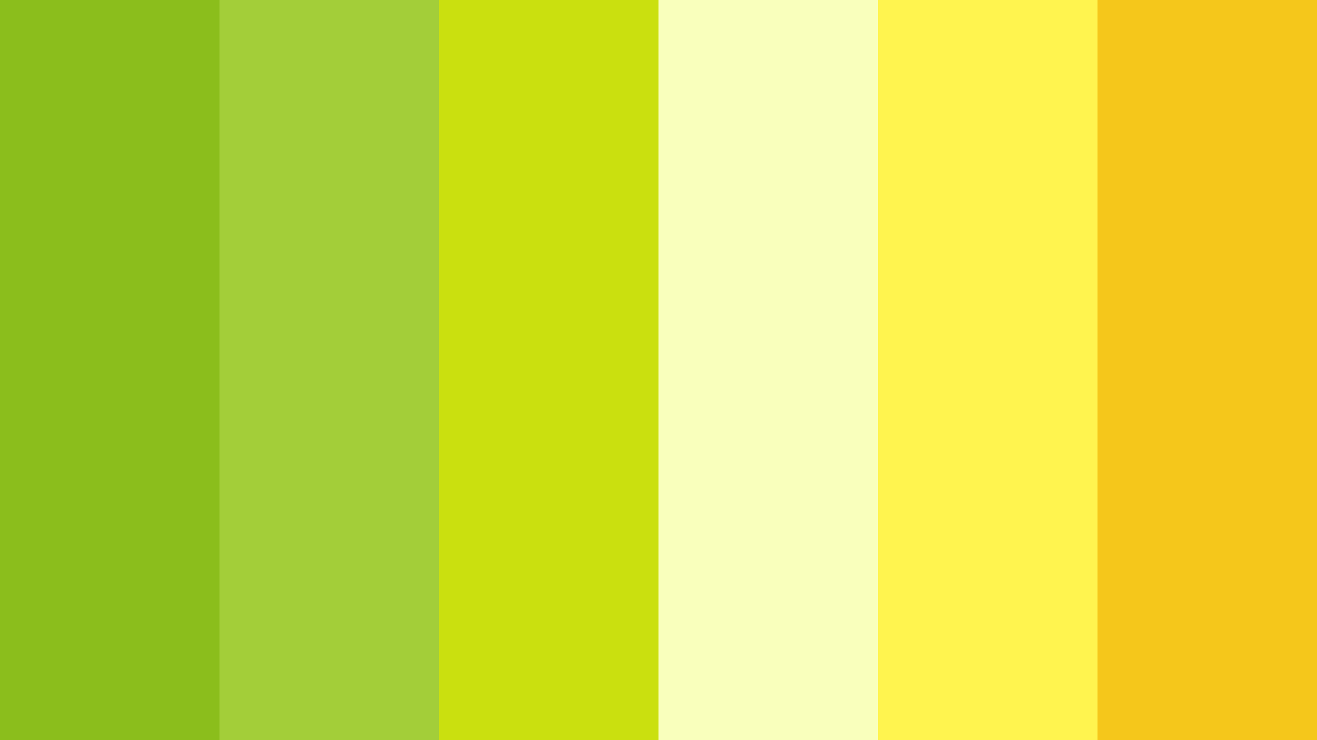 Lime And Lemony Color Palette