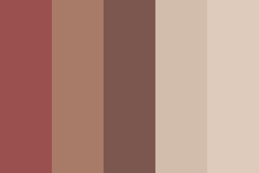 Lips And Skin Color Palette
