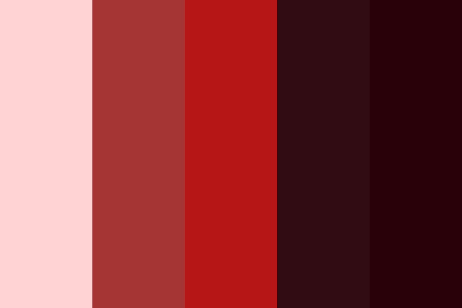 Little Red Riding Hood Color Palette