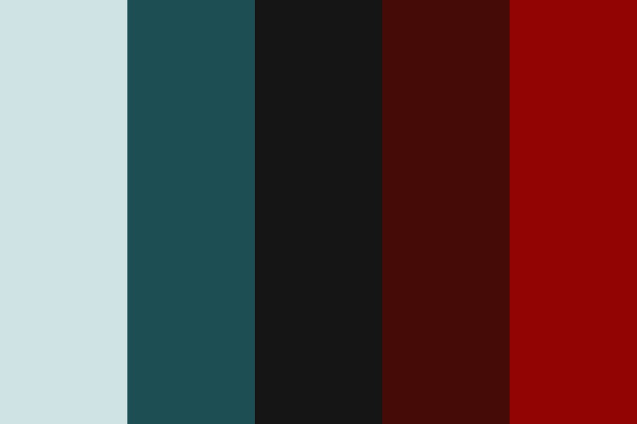 Little Red Wolf Color Palette