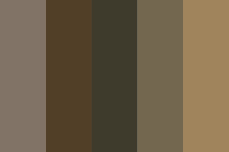 Ll Bark On A Tree Ll Color Palette